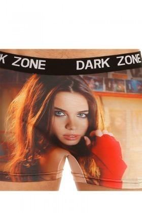 Dark Zone Siyah DZN-1030 3D Erkek Boxer