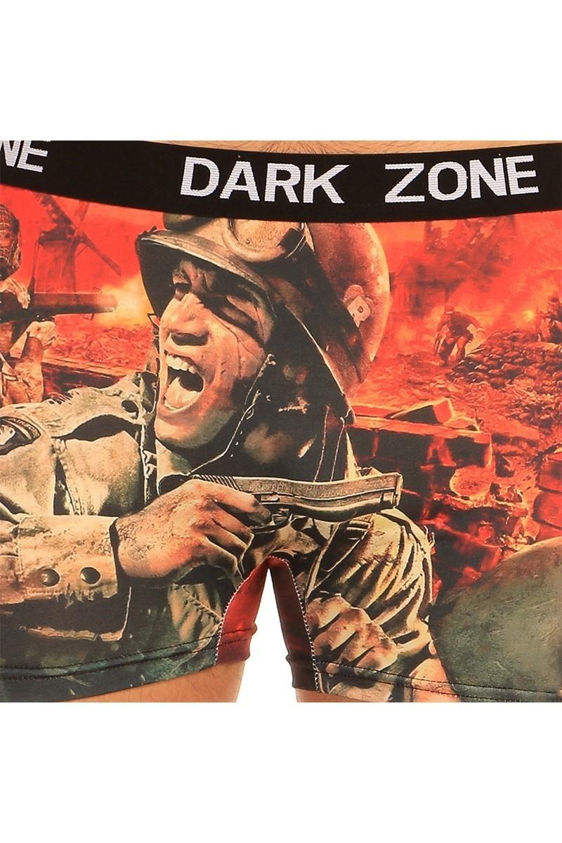 Dark Zone Karışık Renkli DZN-1031 3D Erkek Boxer