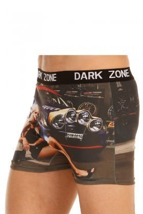 Dark Zone Karışık Renkli DZN-1033 3D Erkek Boxer