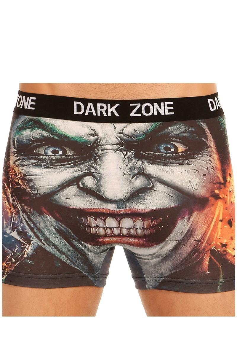 Dark Zone Siyah DZN-1036 3D Erkek Boxer