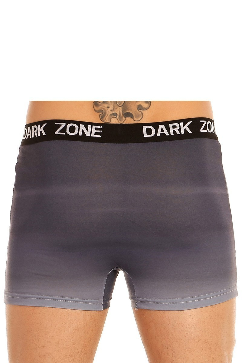 Dark Zone Mavi DZN-1037 3D Erkek Boxer