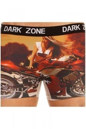 Dark Zone Siyah DZN-1039 3D Erkek Boxer