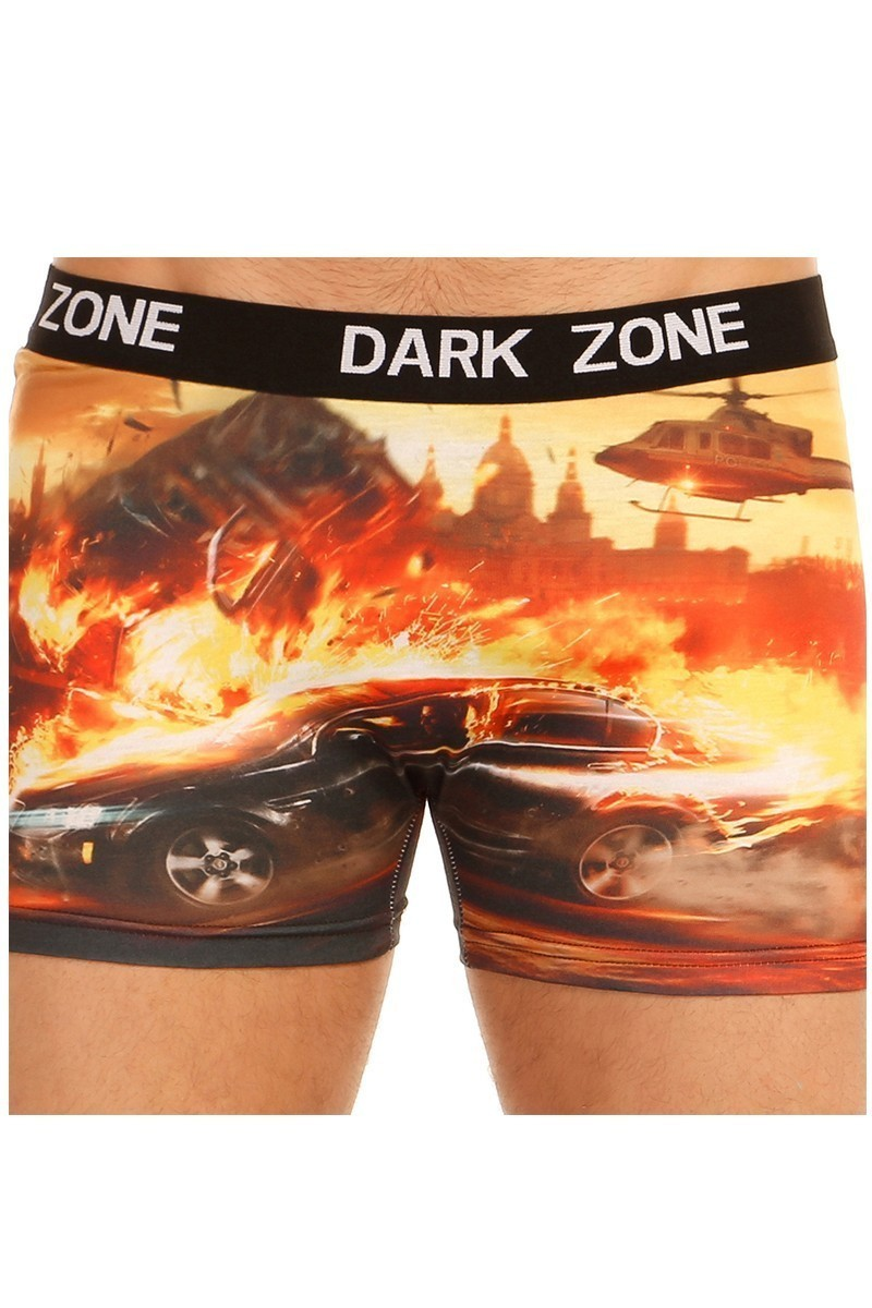 Dark Zone Karışık Renkli DZN-1042 3D Erkek Boxer