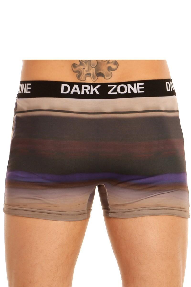 Dark Zone Mavi DZN-1043 3D Erkek Boxer