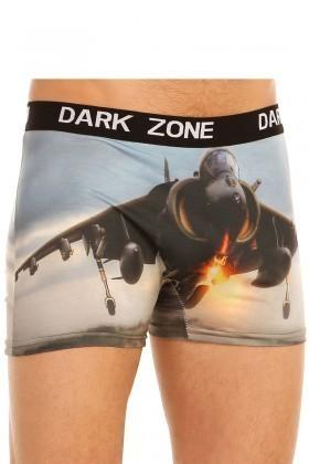 Dark Zone Mavi DZN-1045 3D Erkek Boxer