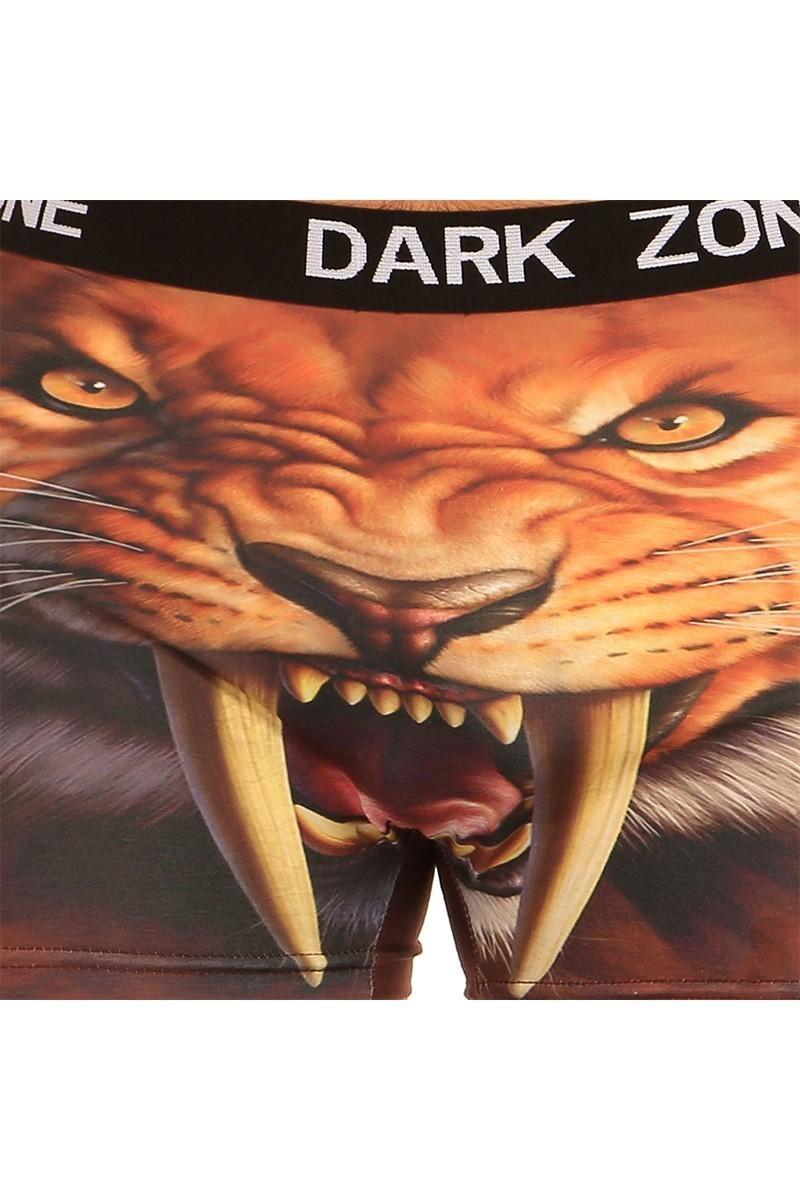 Dark Zone Kahverengi DZN-1005 3D Erkek Boxer