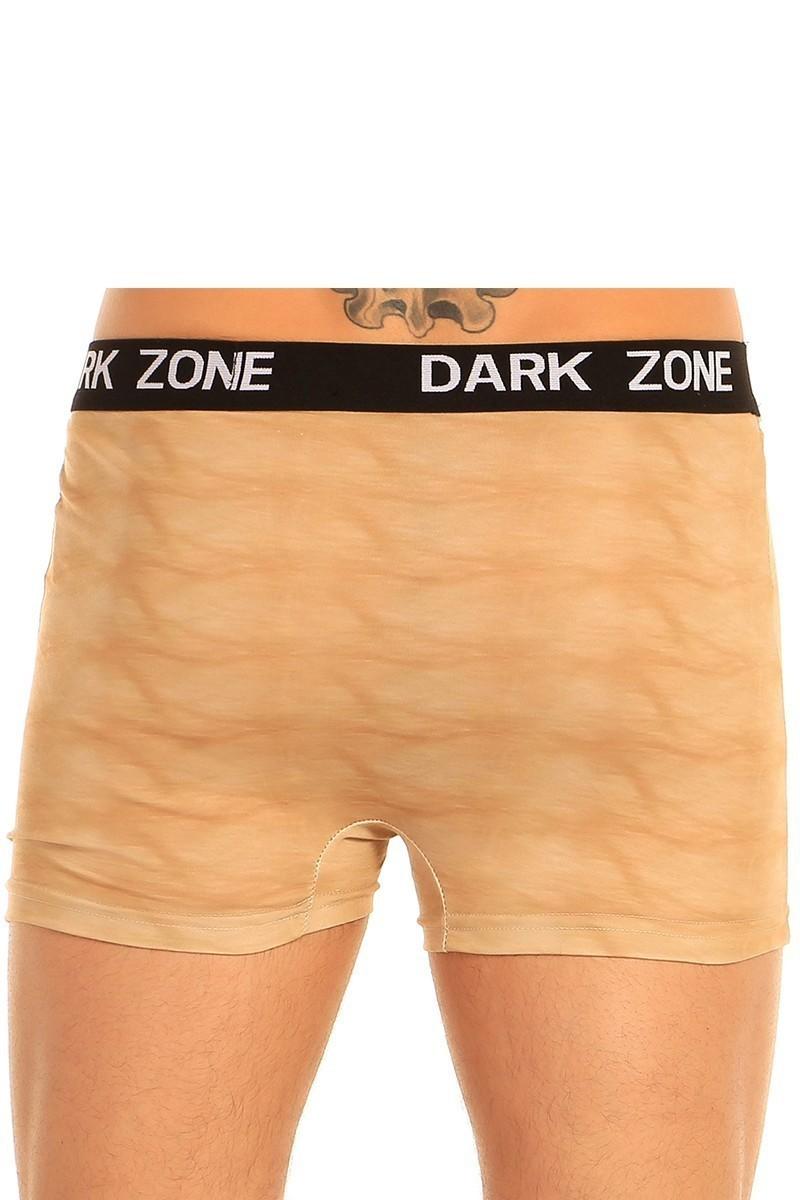 Dark Zone Sarı DZN-1026 3D Erkek Boxer