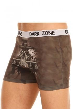 Dark Zone Kahverengi DZN-1053 3D Erkek Boxer