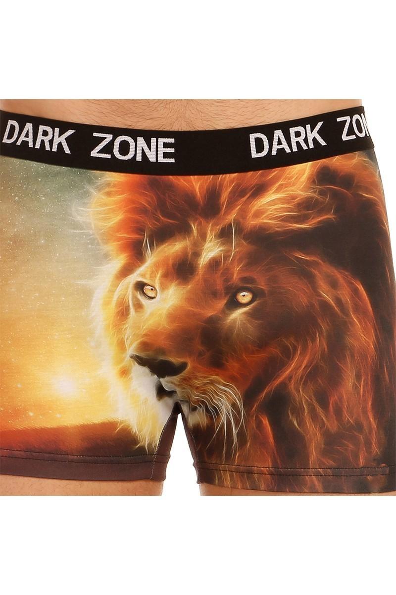 Dark Zone Karışık Renkli DZN-1052 3D Erkek Boxer