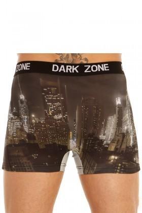 Dark Zone Karışık Renkli DZN-1029 3D Erkek Boxer