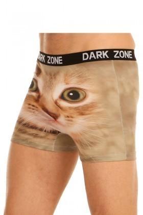 Dark Zone Krem DZN-1018 3D Erkek Boxer
