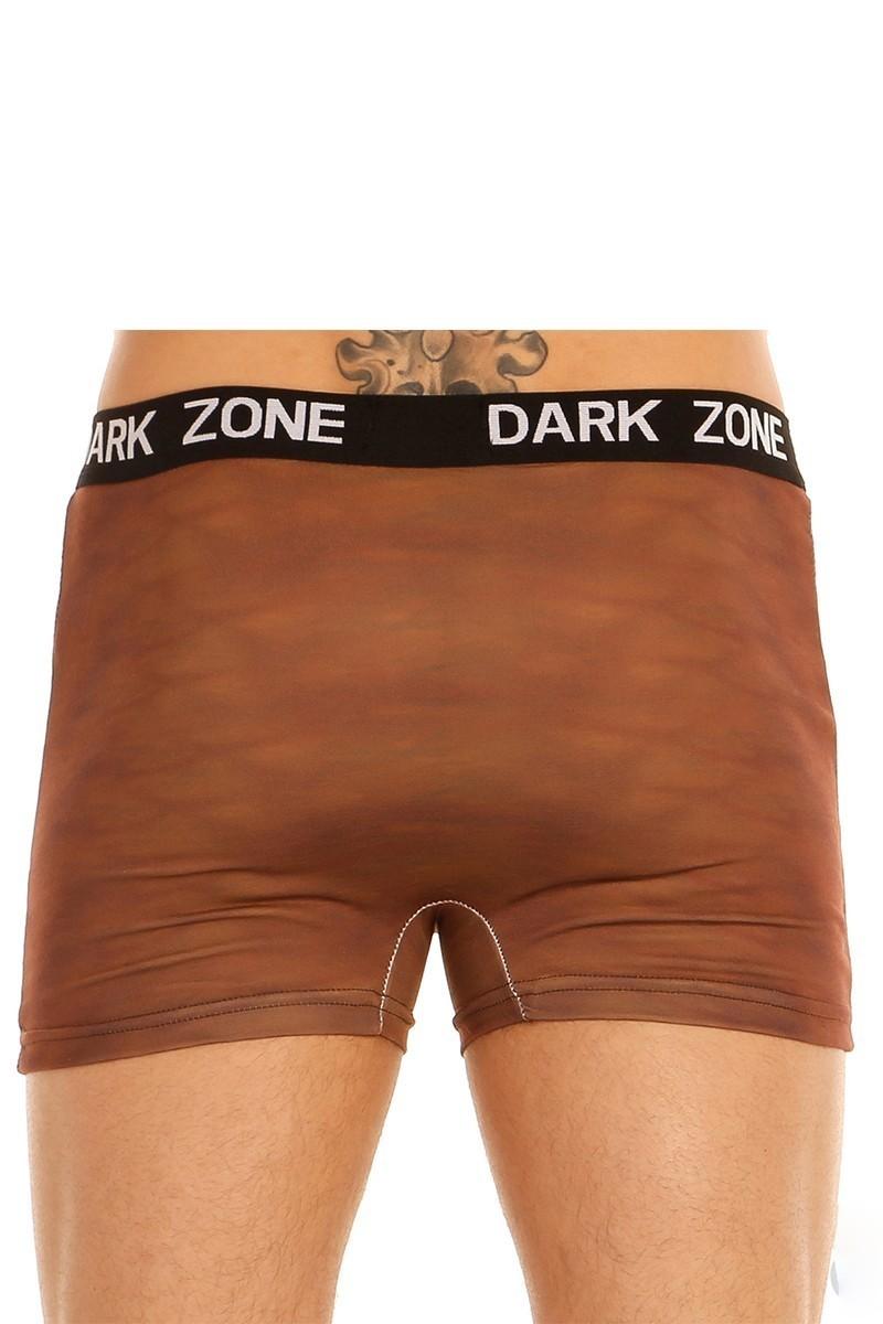 Dark Zone Kahverengi DZN-1006 3D Erkek Boxer