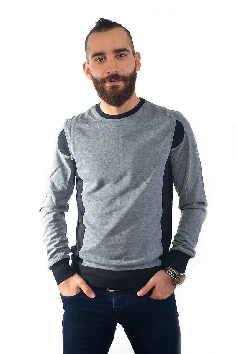 DAS Gri DS-N01UK081 Erkek Sweatshirt