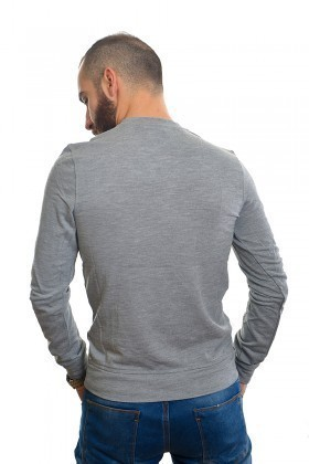 DAS Gri DS-N01UK080 Erkek Sweatshirt