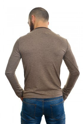 DAS Kahverengi DS-N01UK017 Erkek Sweatshirt