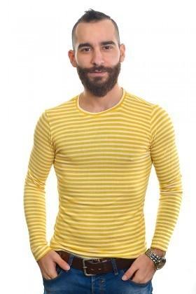DAS Sarı DS-N01UK013 Erkek Sweatshirt