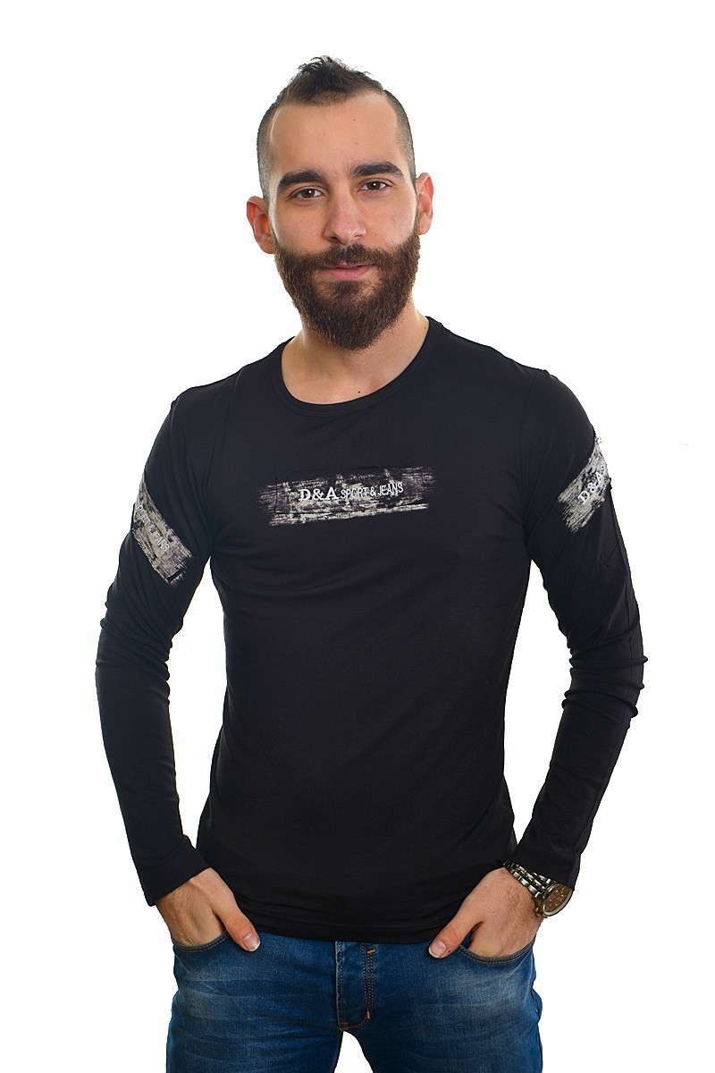 DAS Siyah DS-701UK170 Erkek Sweatshirt