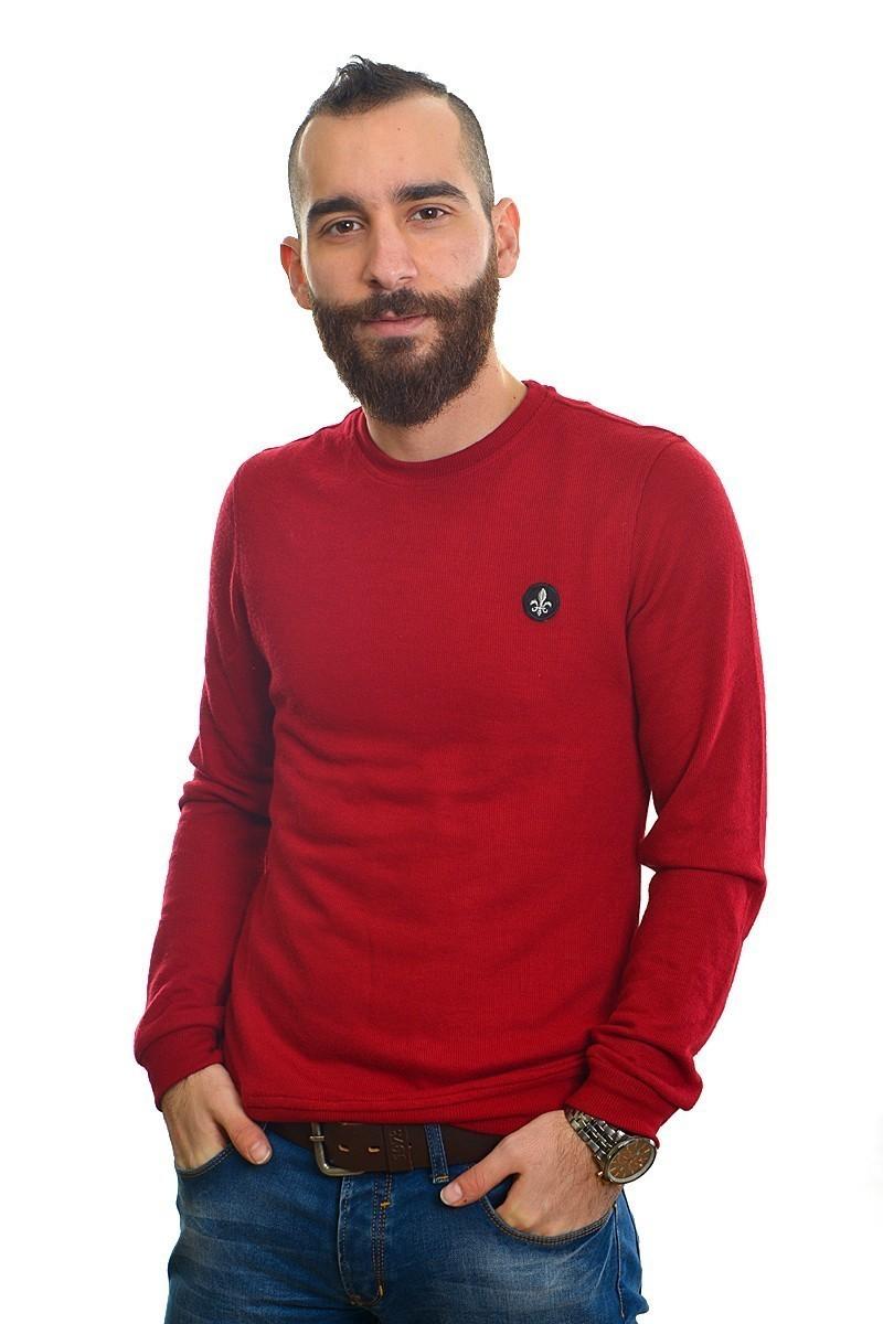 DAS Kırmızı DS-201UK520 Erkek Sweatshirt