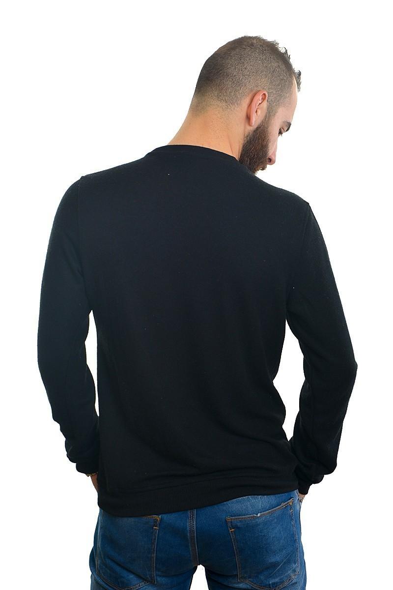 DAS Siyah DS-201UK520 Erkek Sweatshirt