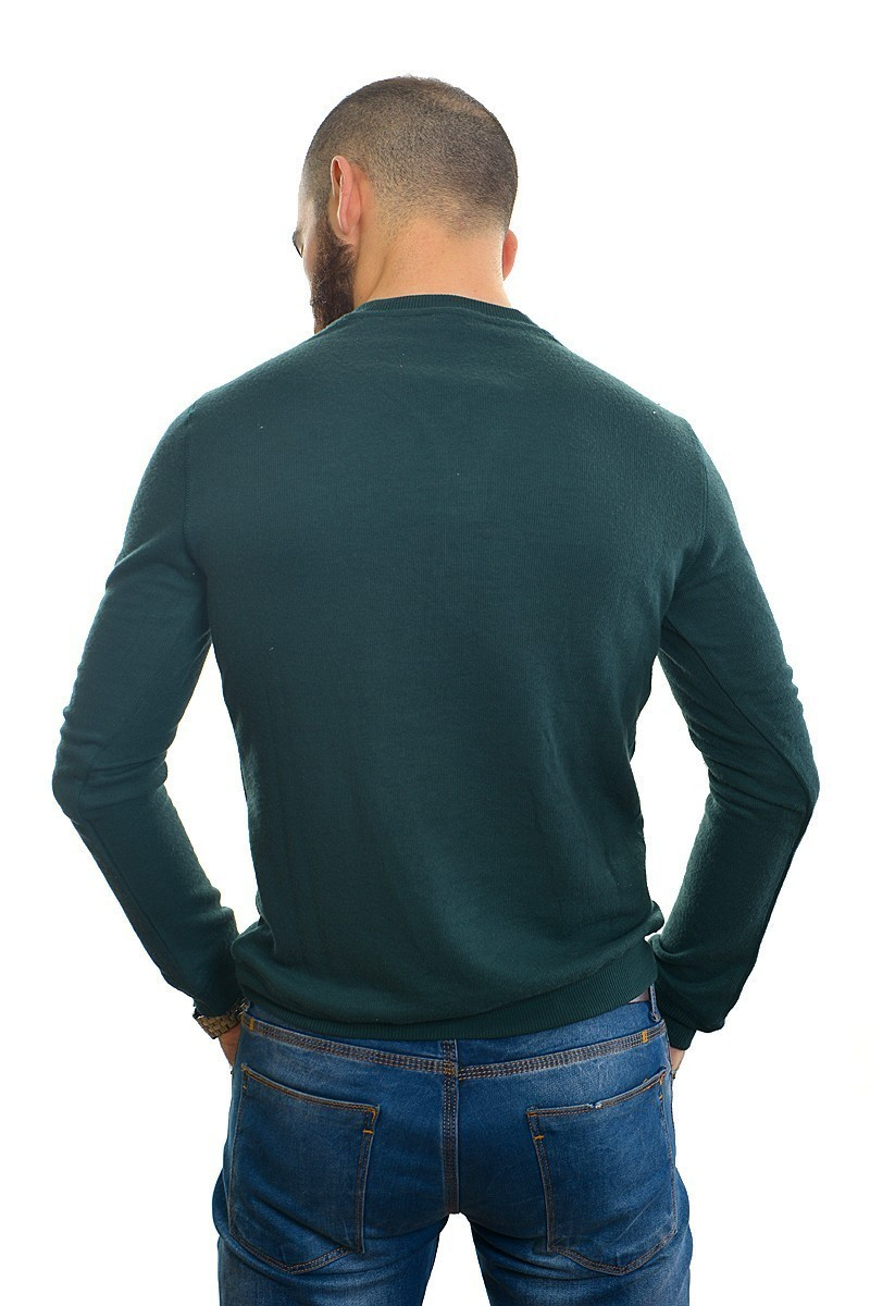 DAS Yeşil DS-201UK518 Erkek Sweatshirt