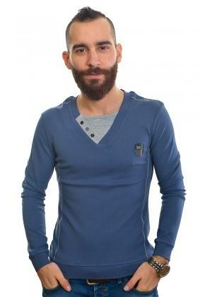 DAS Mavi DS-201UK314 Erkek Sweatshirt