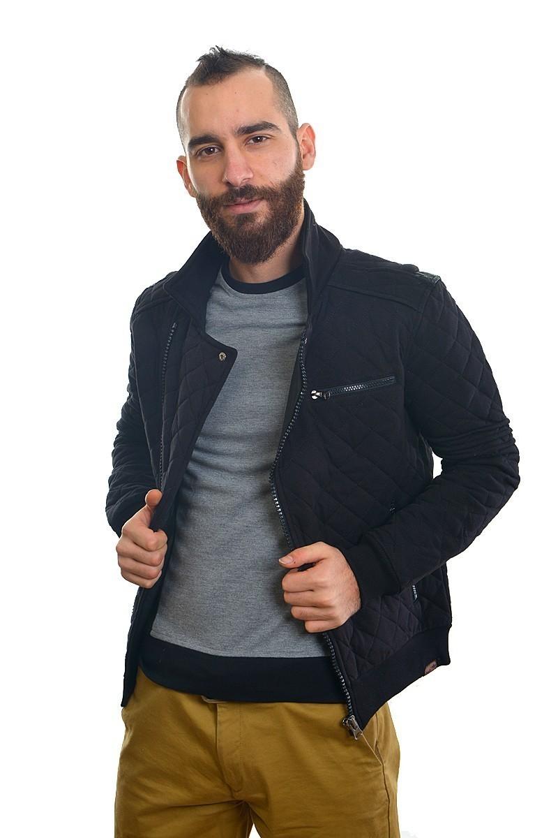 DAS Siyah DS-TK1003 Erkek Sweatshirt