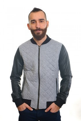 DAS Gri DS-SW2422 Erkek Sweatshirt
