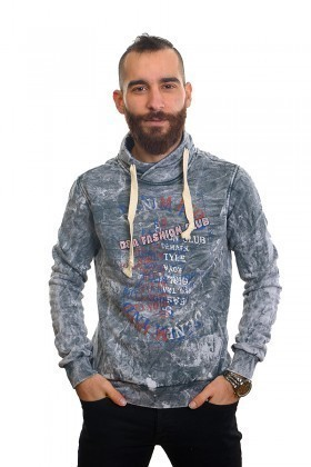 DAS Gri Melanj DS-N01HR062 Erkek Sweatshirt
