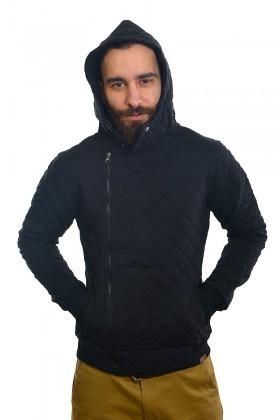 DAS Siyah DS-7403 Kapşonlu Erkek Sweatshirt
