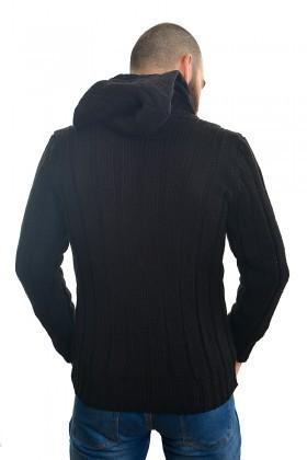 DAS Siyah DS-7401 Erkek Hırka