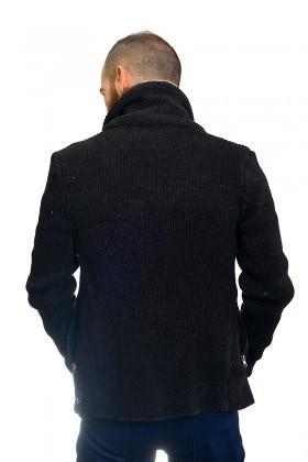 DAS Siyah DS-G401 Erkek Hırka