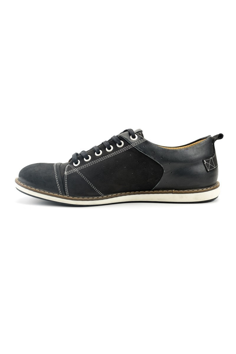 Pandew Siyah PNDW-630 Hakiki Deri Erkek Ayakkabı