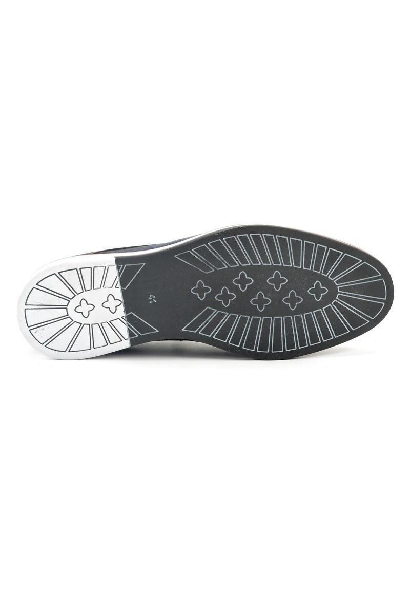 Pandew Lacivert PNDW-624 Hakiki Deri Erkek Ayakkabı