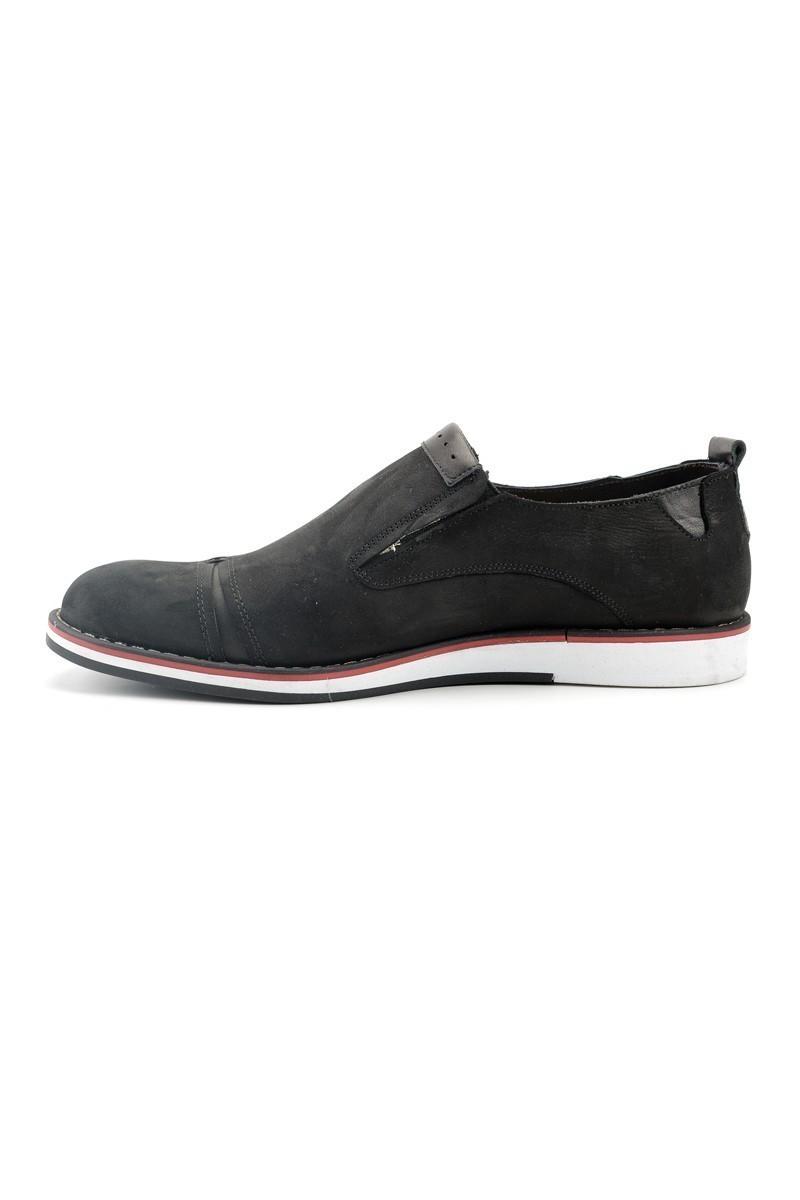 Pandew Siyah PNDW-624 Hakiki Deri Erkek Ayakkabı
