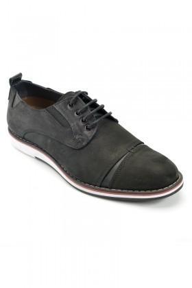 Pandew Siyah PNDW-623 Hakiki Deri Erkek Ayakkabı