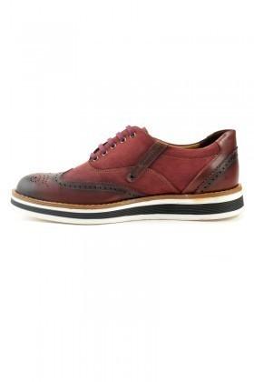 Pandew Bordo PNDW-620 Hakiki Deri Erkek Ayakkabı