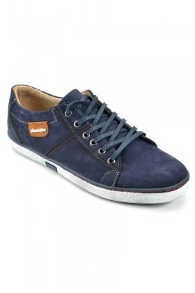 Pandew Lacivert PNDW-553 Hakiki Deri Erkek Ayakkabı
