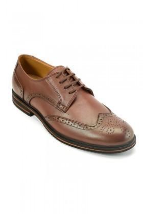Pandew Kahverengi PNDW-66 Hakiki Deri Erkek Ayakkabı