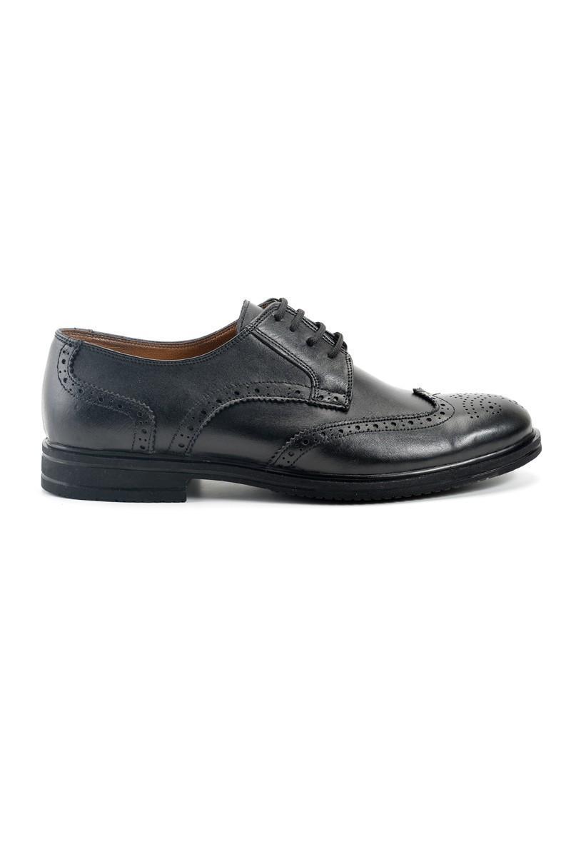 Pandew Siyah PNDW-66 Hakiki Deri Erkek Ayakkabı