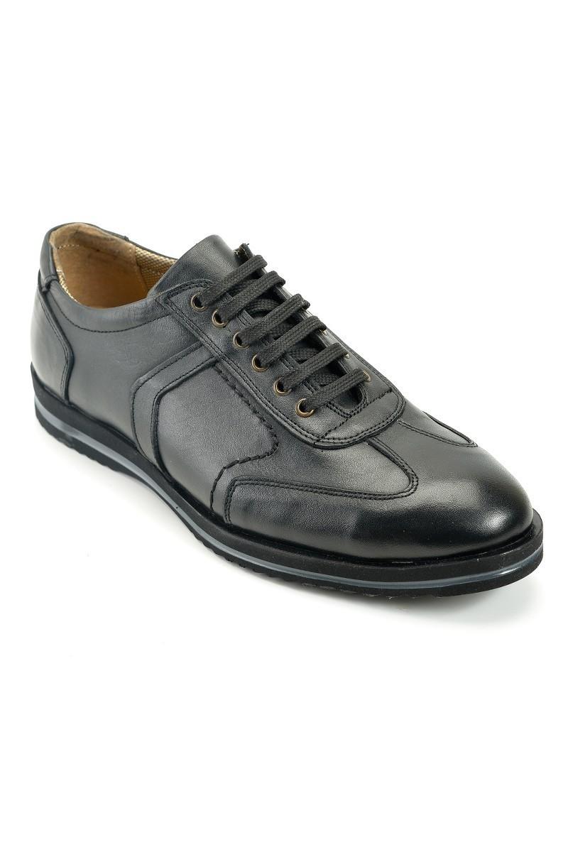 Pandew Siyah PNDW-55 Hakiki Deri Erkek Ayakkabı