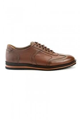 Pandew Kahverengi PNDW-55 Hakiki Deri Erkek Ayakkabı