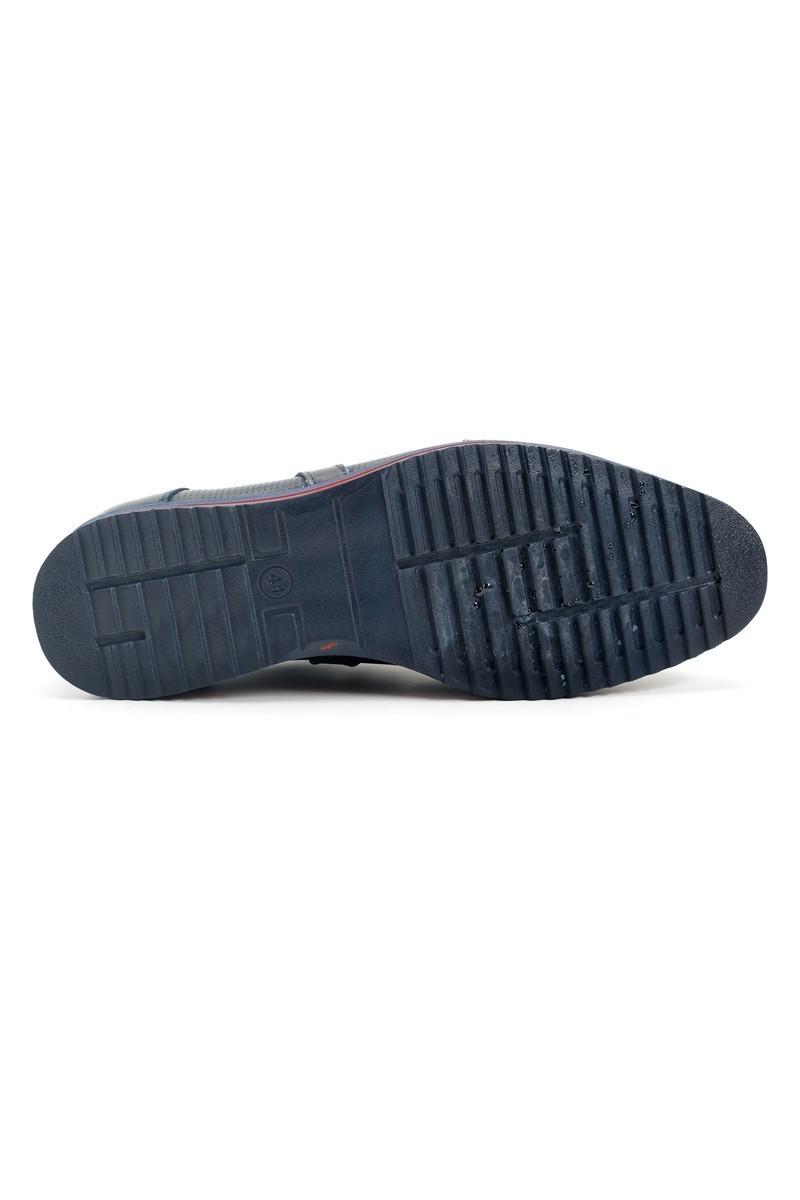 Pandew Lacivert PNDW-55 Hakiki Deri Erkek Ayakkabı