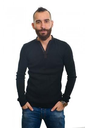 DAS Siyah DS-201UK500 Erkek Sweatshirt