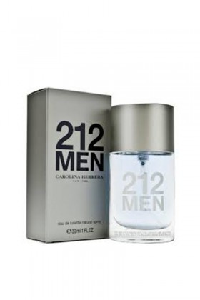 Carolina Herrera 8411061341803 212 Men Edt 30 Ml