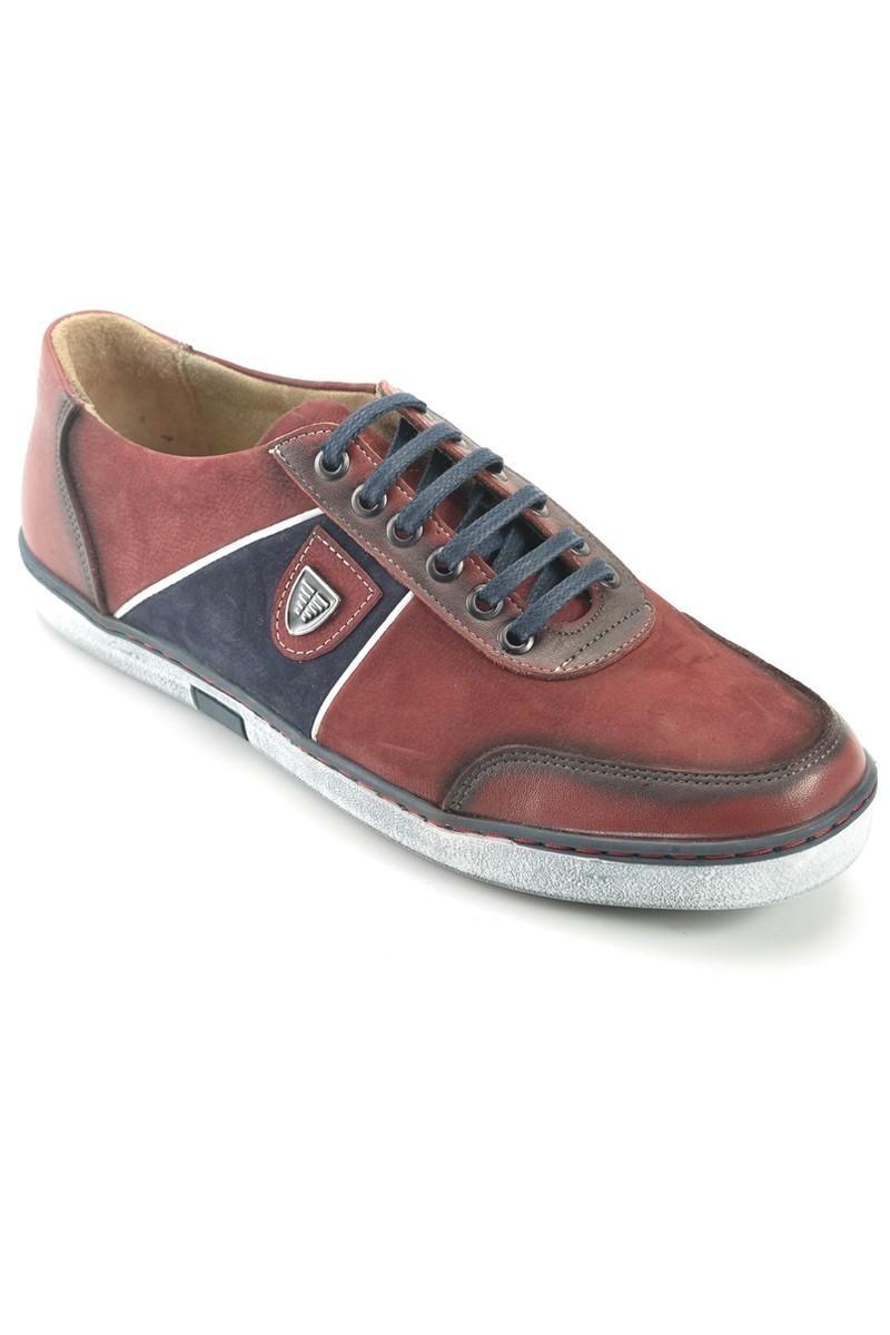 Pandew Bordo PNDW-556 Hakiki Deri Erkek Ayakkabı