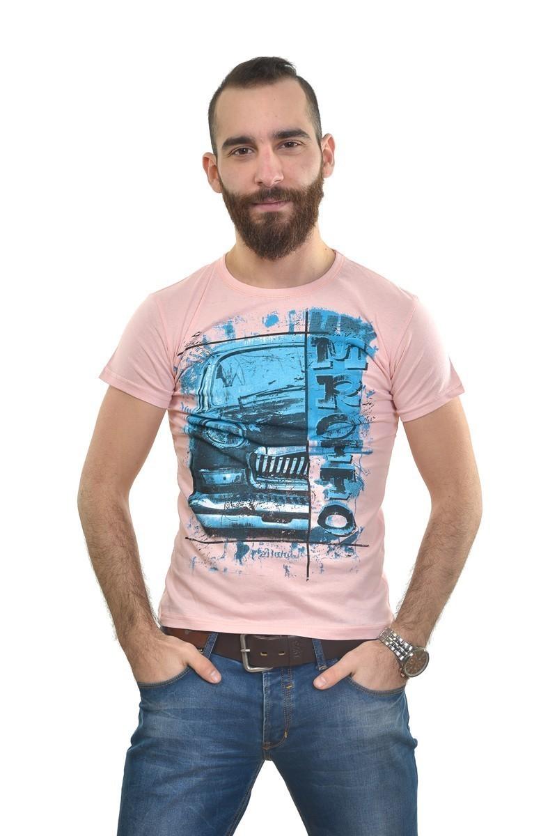 MTT Pembe MTT-307 Erkek Tişört