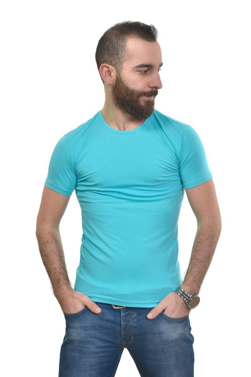 MTT Turkuaz MTT-305 Erkek Tişört
