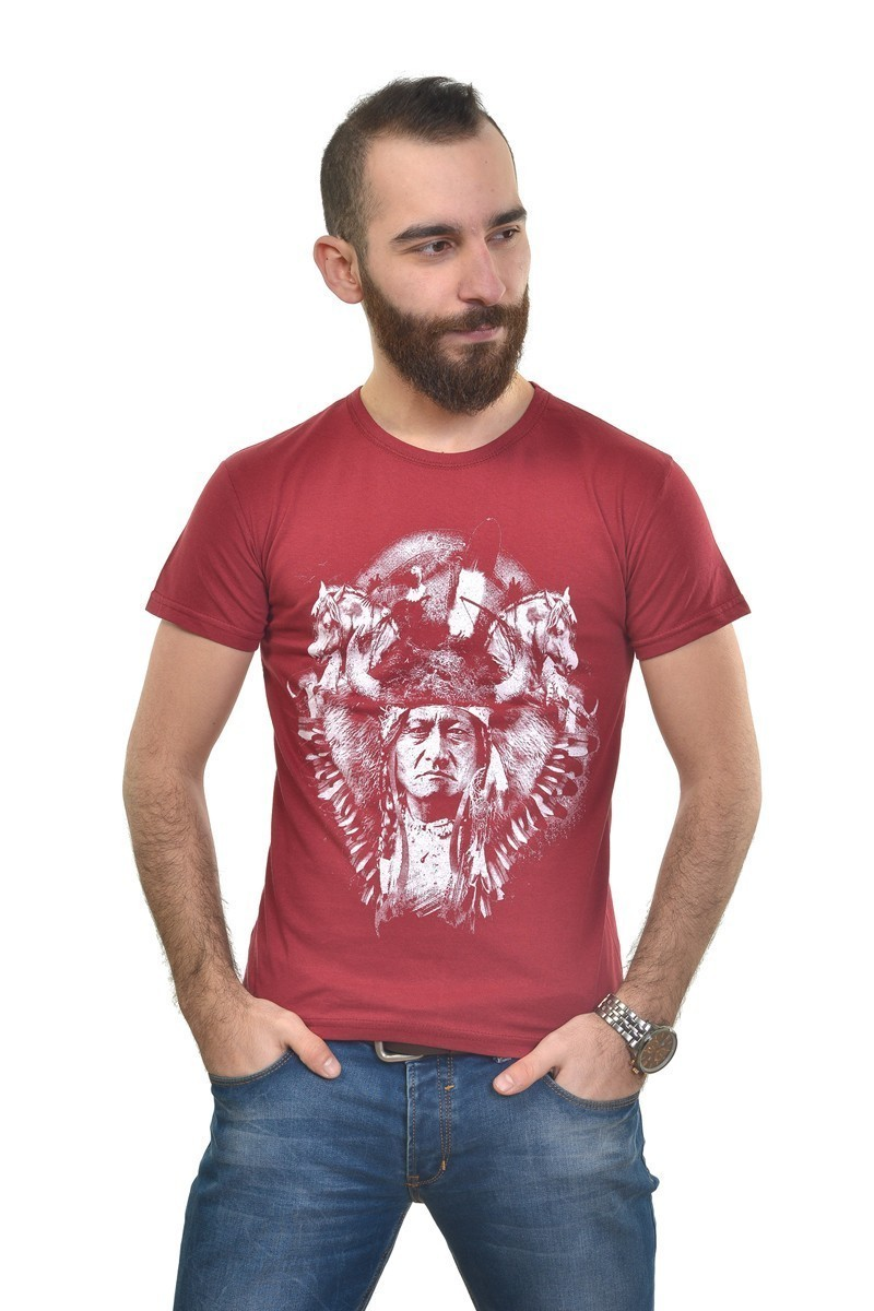 MTT Kırmızı MTT-297 Erkek Tişört