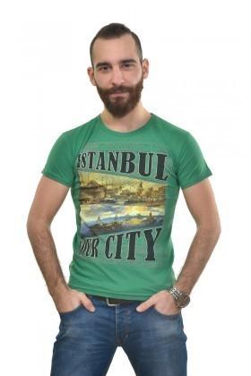 MTT Yeşil MTT-296 Erkek Tişört