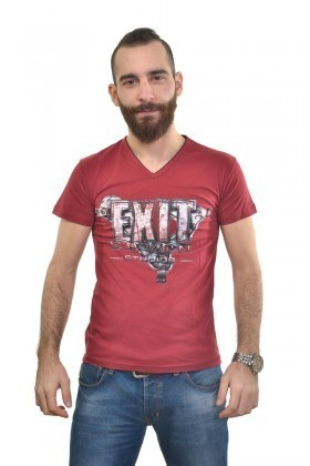 MTT Kırmızı MTT-295 Erkek Tişört